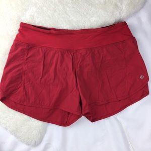 Lululemon Shorts Red Size 6